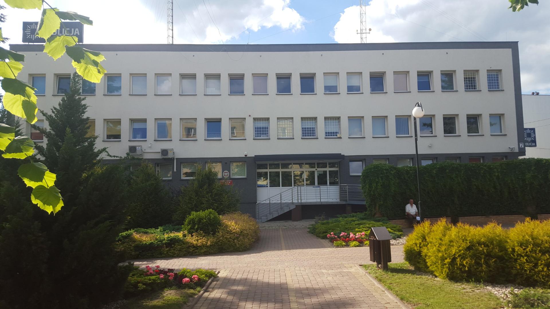 Remont i termomodernizacja budynku Komendy Powiatowej Policji w Mońkach