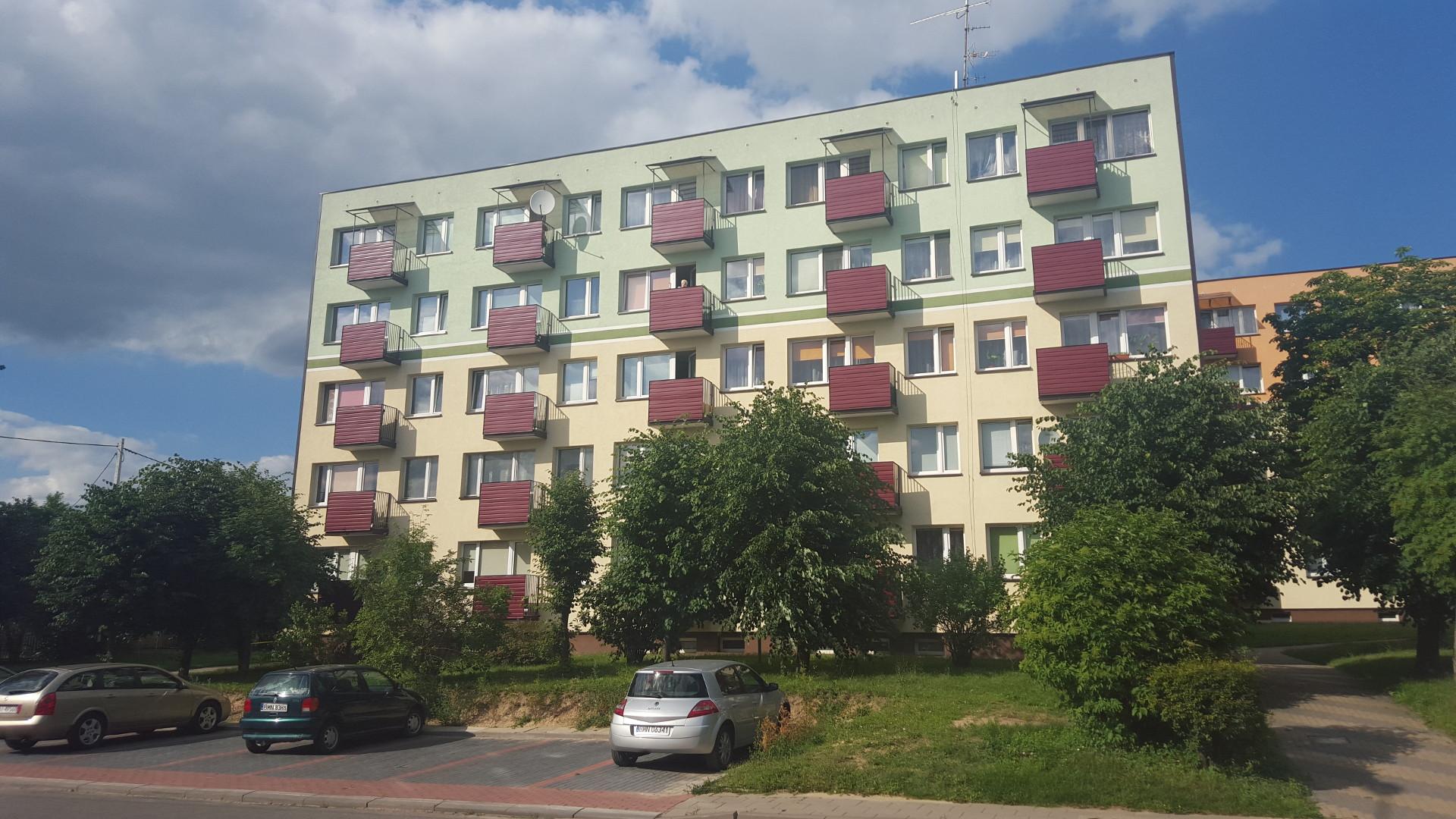 Termomodernizacja bloku mieszkalnego przy ul. Tysiąclecia 7 - Mońki