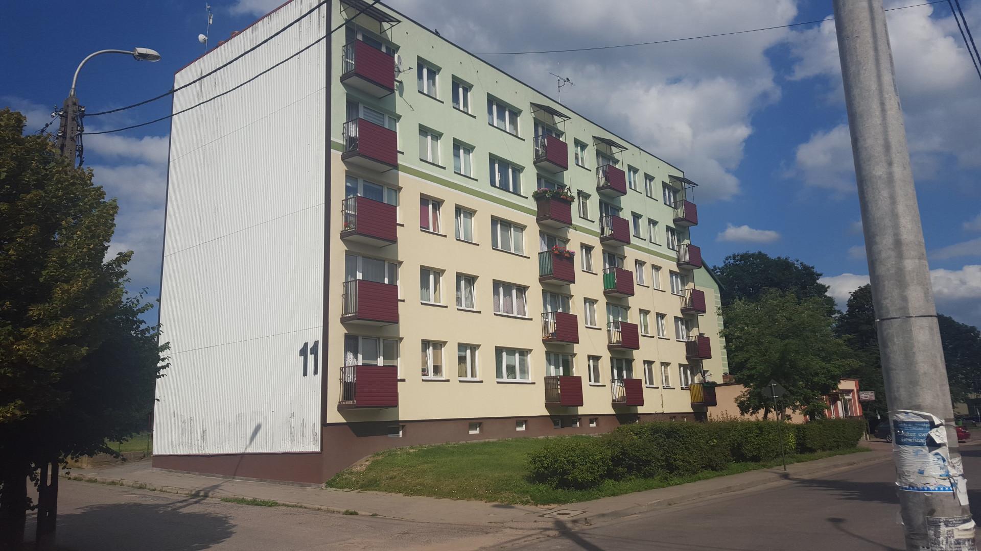 Termomodernizacja bloku mieszkalnego przy ul. Tysiąclecia 11 - Mońki