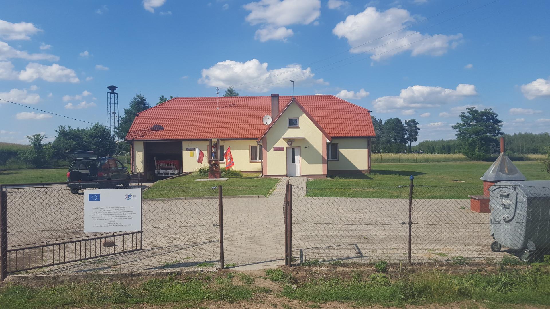 Remont i termomodernizacja budynku Ochotniczej Straży Pożarnej, oraz świetlicy wiejskiej we wsi Brzozowa - 1